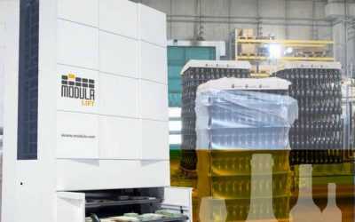 Modula Automated Warehouse Systems: Beverage and Wine Industries