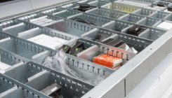 Partitions, dividers, tray extensions
